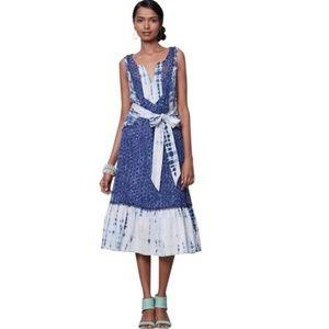Anthropologie Meadow Rue Shirbori Sun dress Size 4